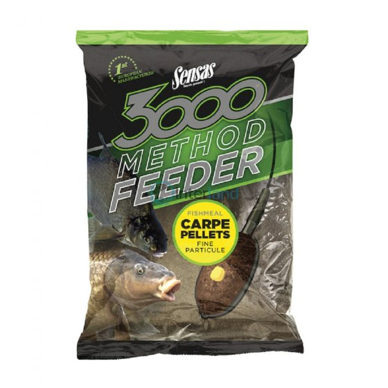 SEN - 3000 Method Carp Pellets 1kg