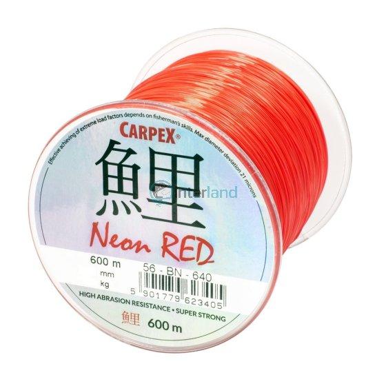 Najlon Carpex Neon Red - 600 m