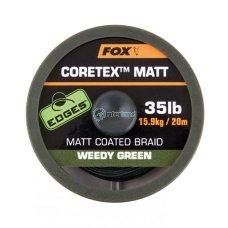 Špaga Matt Coretex Weedy Green 20 m