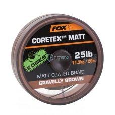 Špaga Matt Coretex Gravelly Brown 20 m