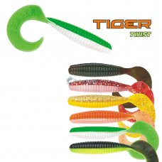TR - Gumena ribica Twister Tiger twist 100 mm