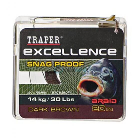 TR - Špaga Excellence SNAG PROOF 72152 20m - dark brown