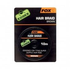 FOX - Edges Hair braid x 10m brown CAC565