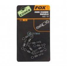 FOX - Edges Kwik Change Swivel - vel. 10  CAC486