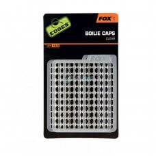 FOX - Edges boilie caps clear (120pcs) CAC601