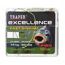 TR - Špaga Excellence FAST SINKING 72138 20m - camou green