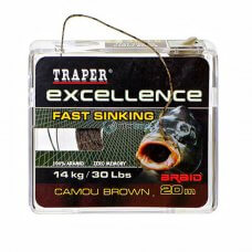 TR - Špaga Excellence FAST SINKING 72140 20m - camou brown