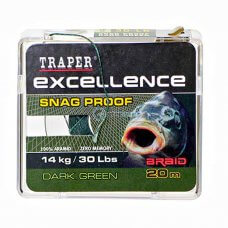 TR - Špaga Excellence SNAG PROOF 72150 20m - dark green