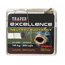 TR - Špaga Excellence NEUTRAL BUOYANCY 72175 20m - dark brown
