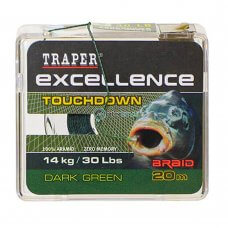 TR - Špaga Excellence TOUCHDOWN 72179 20m - dark green