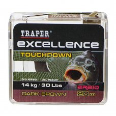 TR - Špaga Excellence TOUCHDOWN 72181 20m - dark brown
