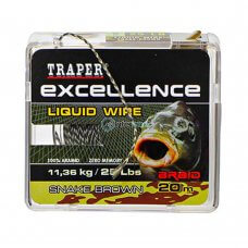 TR - Špaga Excellence LIQUID WIRE 72194 20m - snake brown