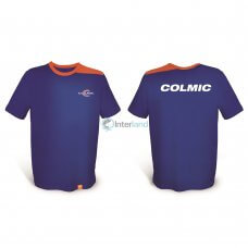 Majica T-SHIRT plavo/narančasta