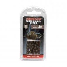 Gumene perle Shock beeds - smeđe