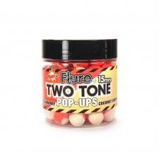 DYN - Boile Fluro Pop-Up Two Tone Strawberry & Coconut Cream 15mm 80g
