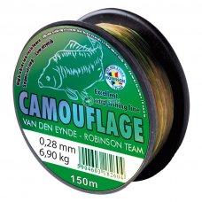 Najlon VDE-R Camouflage 150 m