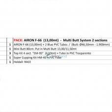 COL - Šteka PACK: AIRON F66 RBS (EM95) 13,00mt - CCX32TP3