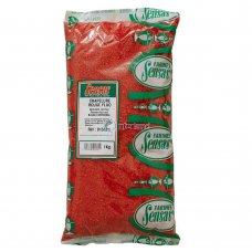 SEN - Krušne mrvice 1kg - fluo crvene